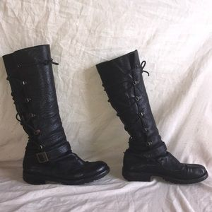 Fiorentini and Baker Lace back boots black 35